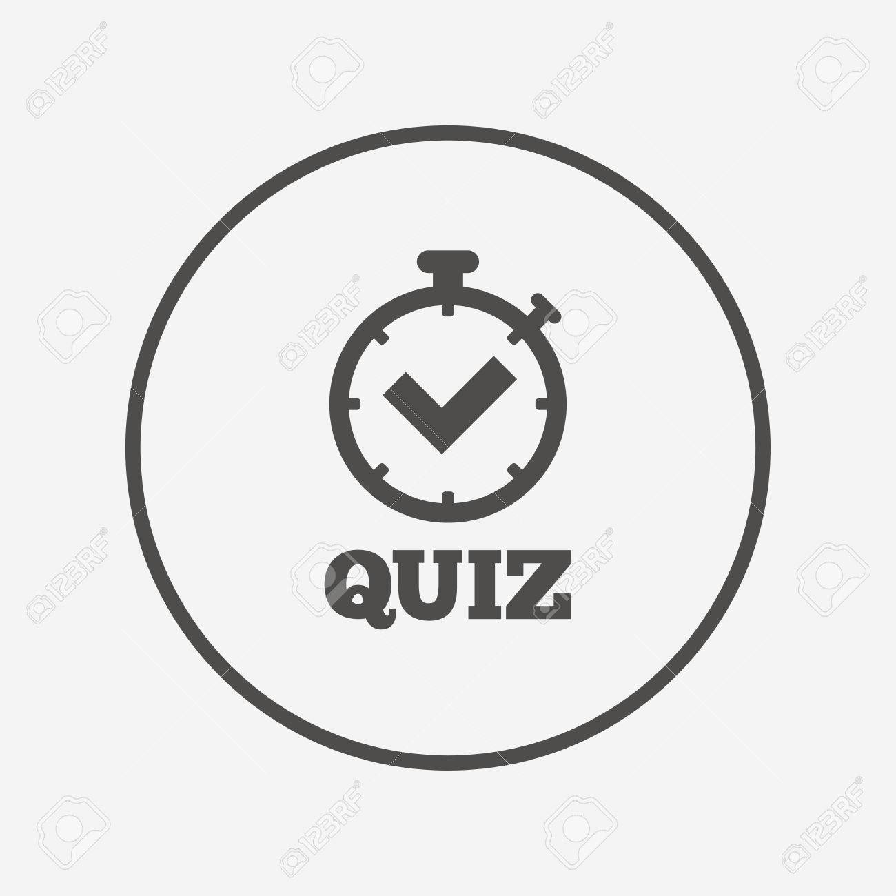 Quiz sign icon questions and answers game flat quiz timer icon quiz sign icon questions and answers game flat quiz timer icon simple design biocorpaavc Images