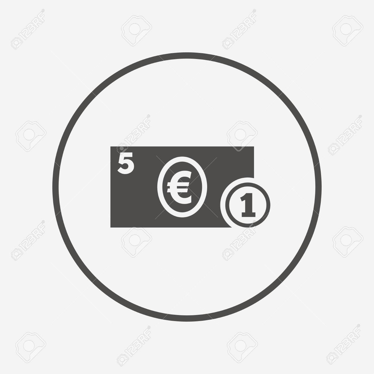 Cash sign icon euro money symbol coin flat cash icon simple cash sign icon euro money symbol coin flat cash icon simple design buycottarizona Gallery