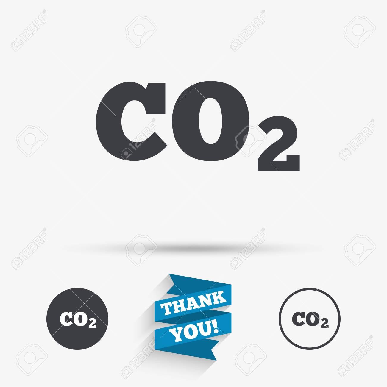 Co2 carbon dioxide formula sign icon chemistry symbol flat co2 carbon dioxide formula sign icon chemistry symbol flat icons buttons with icons buycottarizona Images