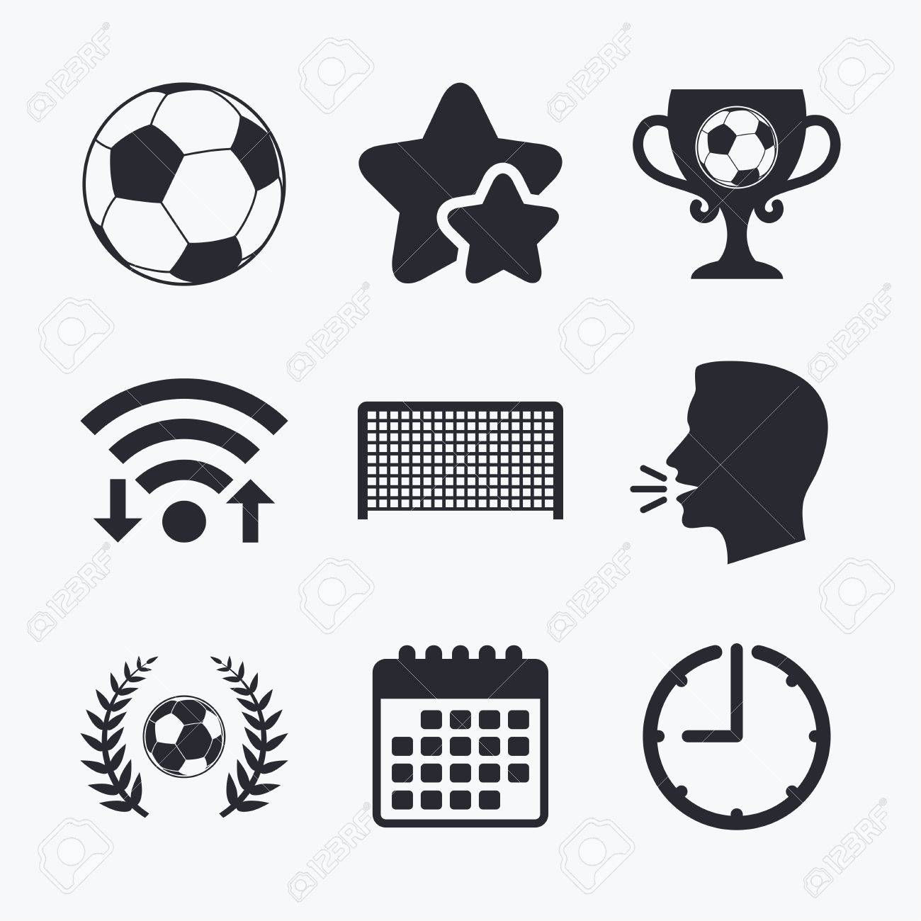 Fuball Symbole Sportzeichen Torwart Gate Symbol Gewinner And Award Tasse