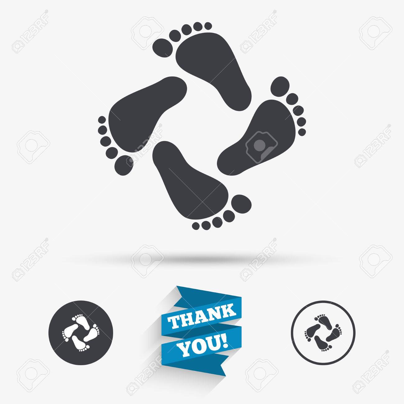 Baby footprints icon child barefoot steps toddler feet symbol baby footprints icon child barefoot steps toddler feet symbol flat icons buttons buycottarizona Images