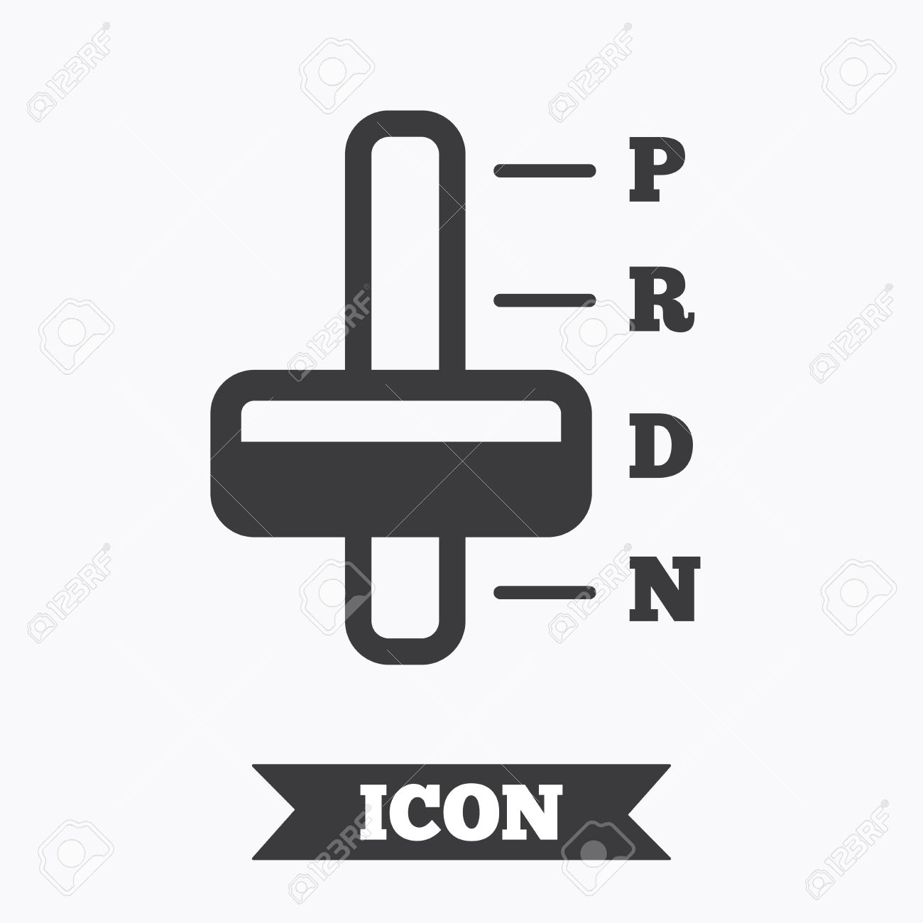 Automatic Transmission Sign Icon Auto Car Control Symbol Graphic Royalty Free Cliparts Vectors And Stock Illustration Image 60200074