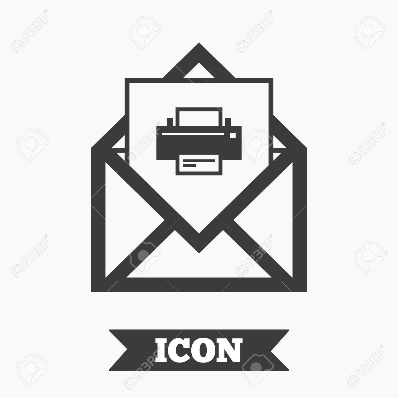 imprimer un courrier à poster
