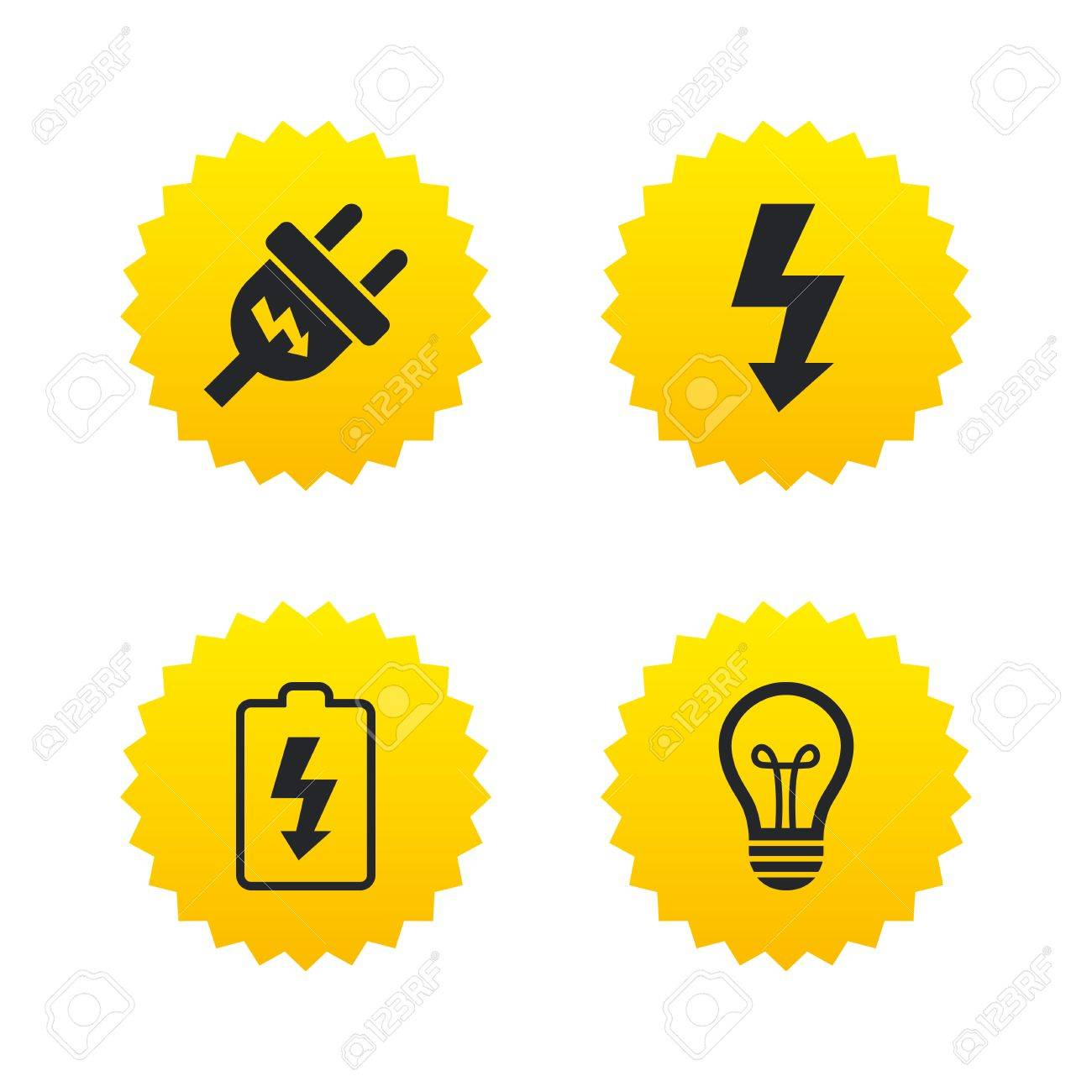Best electric signs and symbols gallery electrical and wiring lamp bulb and battery symbols low electricity biocorpaavc Choice Image