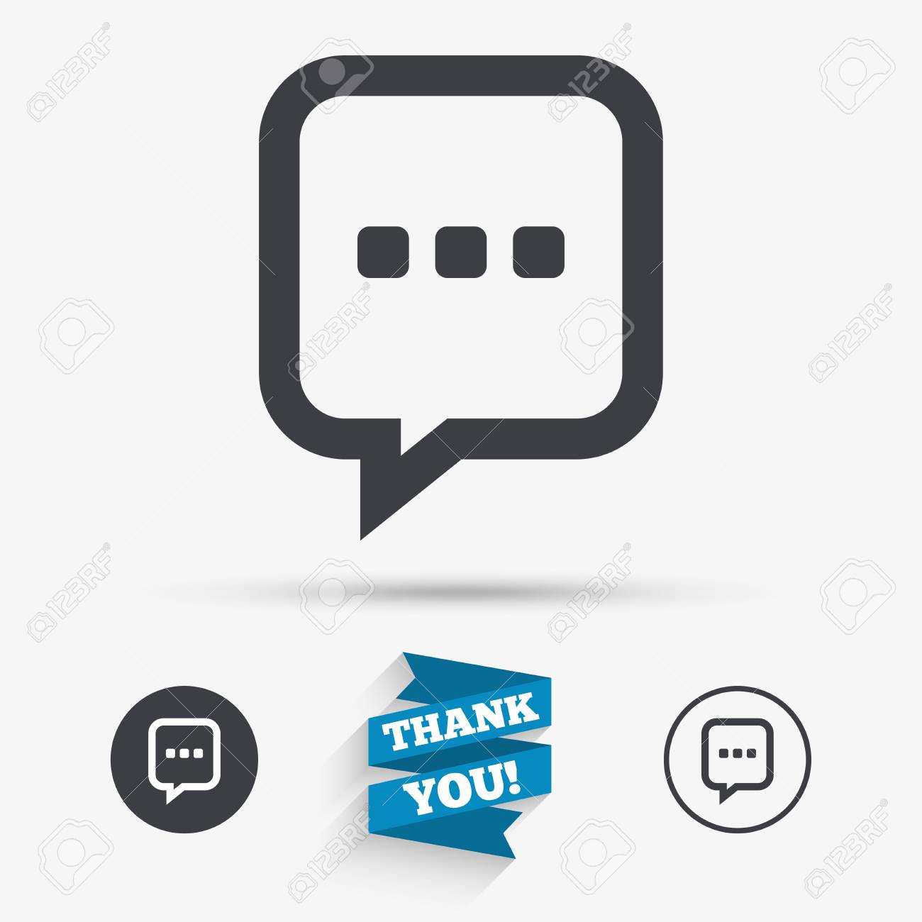 Chat sign icon speech bubble with three dots symbol speech bubble with three dots symbol communication chat bubble flat biocorpaavc