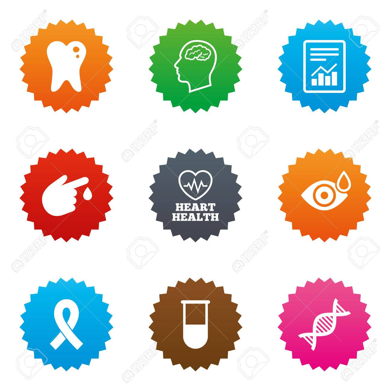 Medicine medical health and diagnosis icons blood test dna medicine medical health and diagnosis icons blood test dna and neurology signs buycottarizona Images