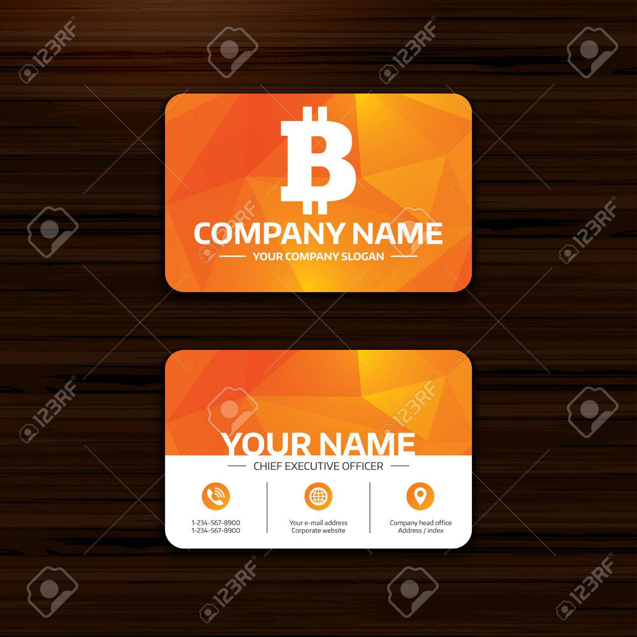Business or visiting card template bitcoin sign icon cryptography business or visiting card template bitcoin sign icon cryptography currency symbol p2p reheart Gallery