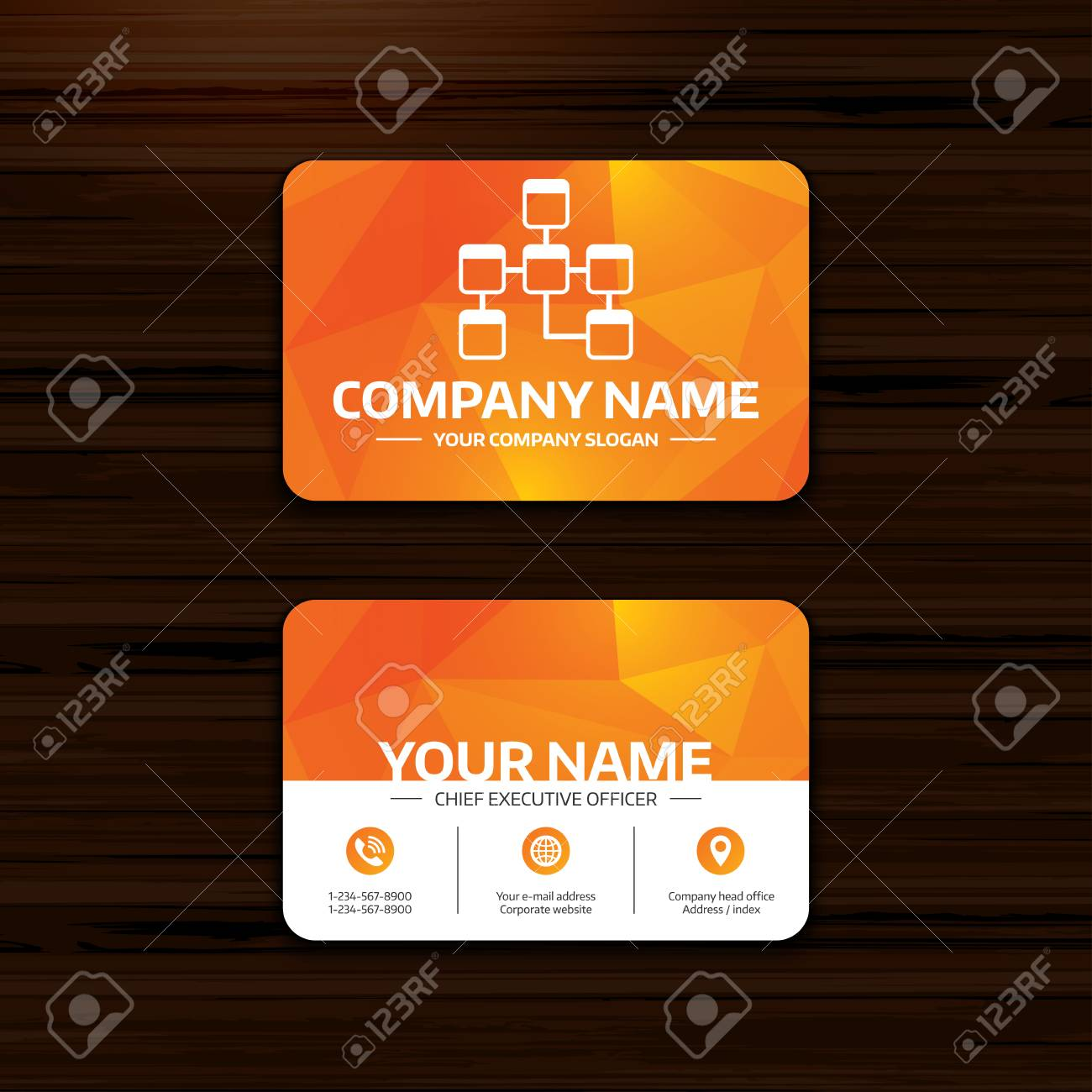 Business or visiting card template database sign icon relational business or visiting card template database sign icon relational database schema symbol phone reheart Images
