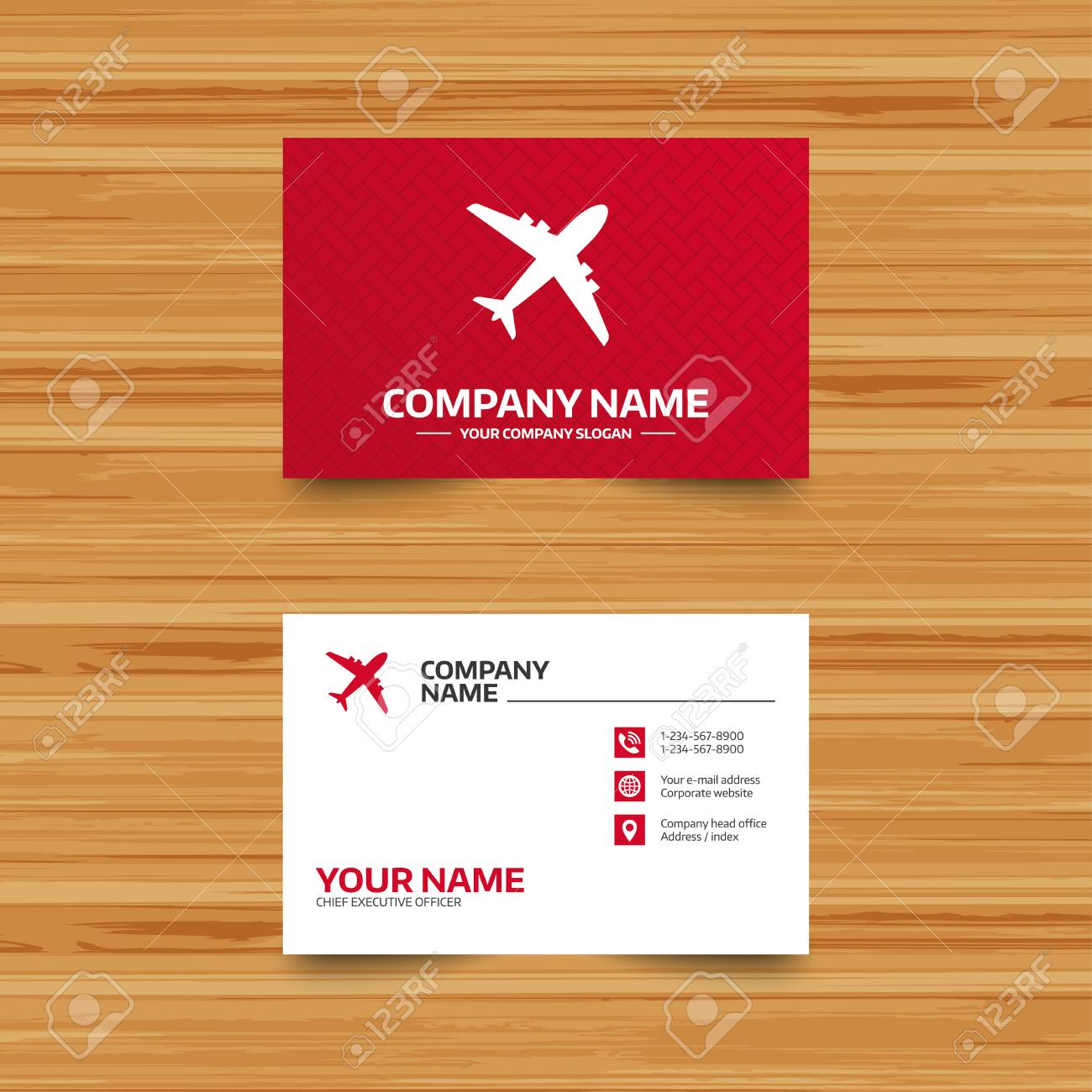 Business card template airplane sign plane symbol travel icon business card template airplane sign plane symbol travel icon flight flat label accmission Gallery