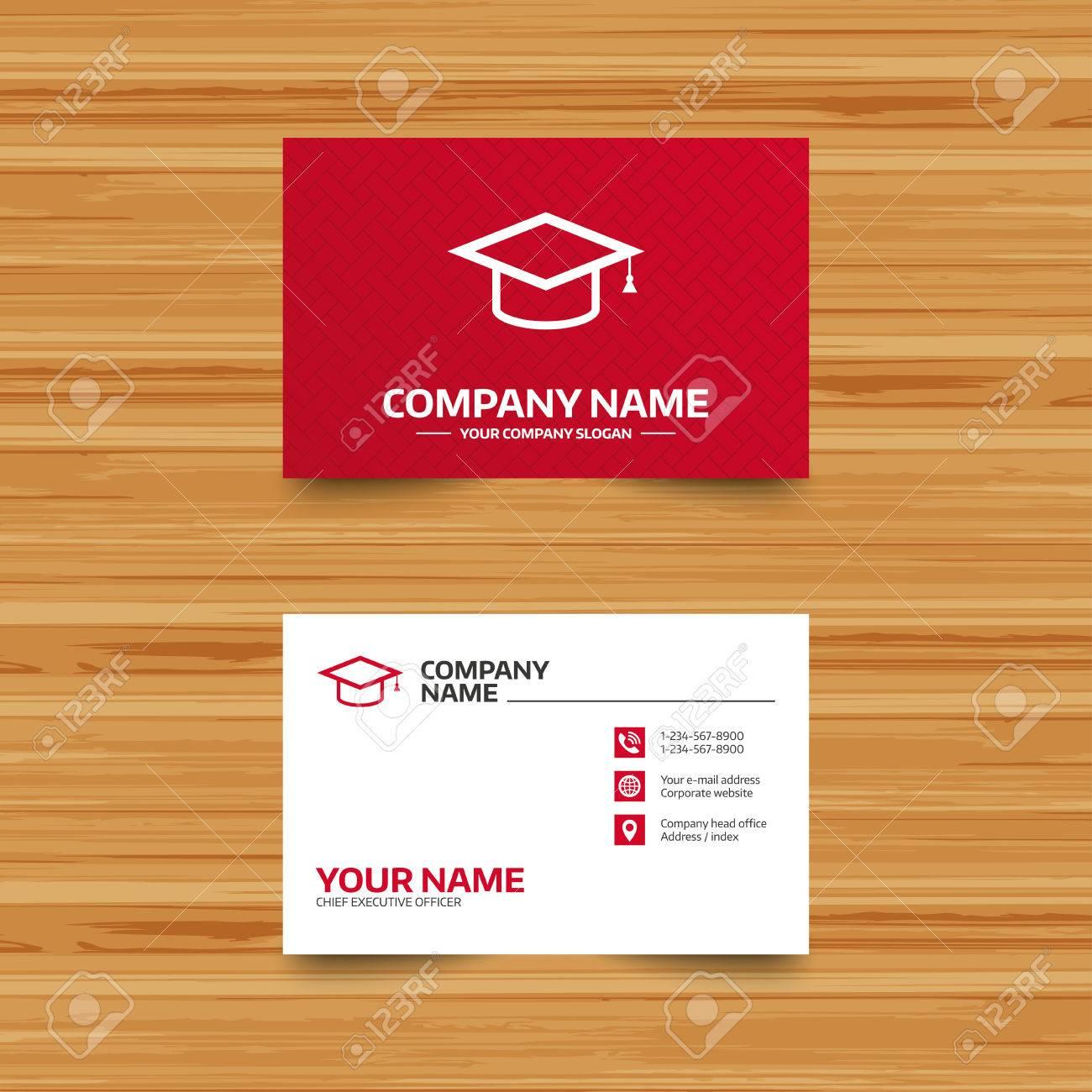 free graduation name card template