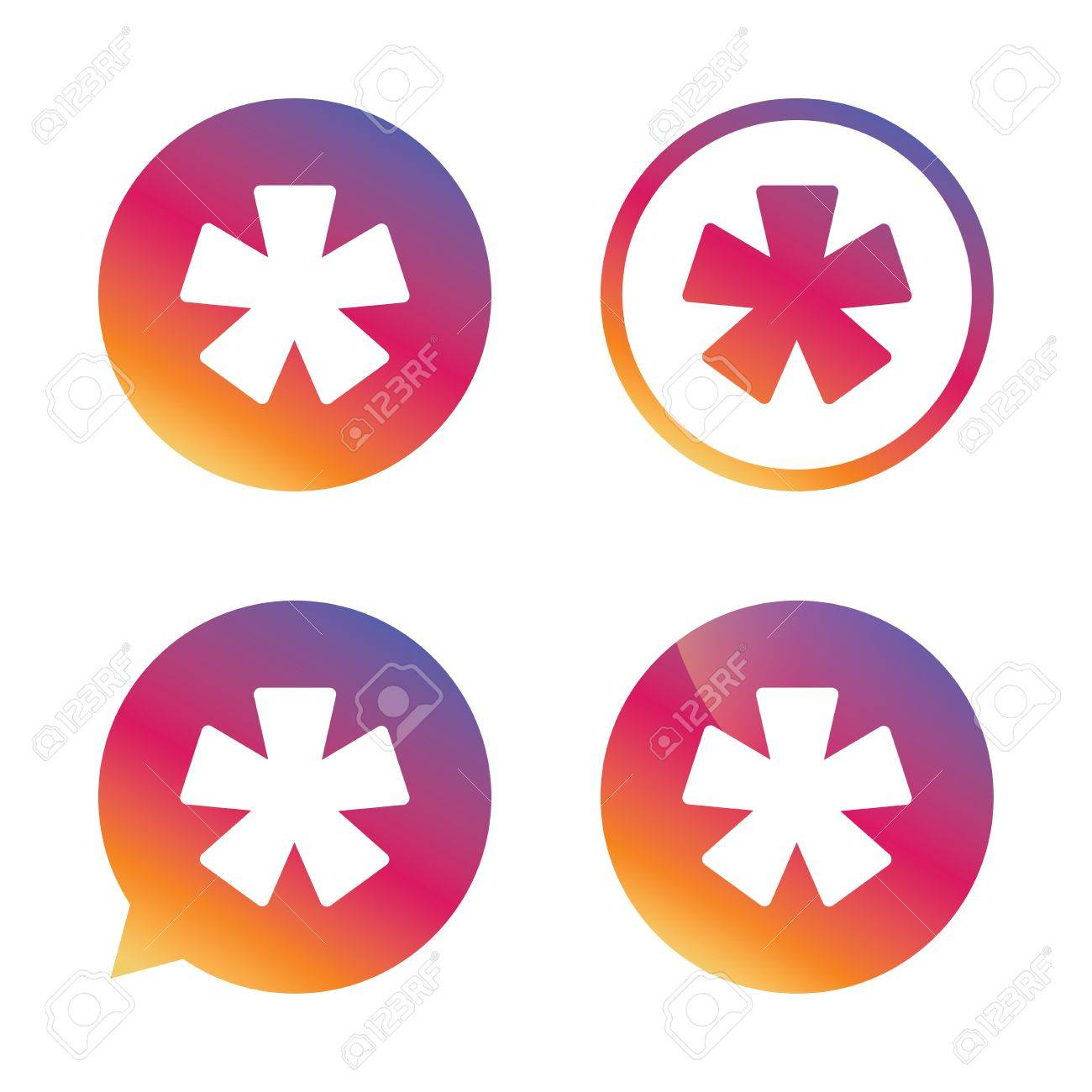 Asterisk footnote sign icon star note symbol for more information asterisk footnote sign icon star note symbol for more information gradient buttons with flat biocorpaavc Choice Image