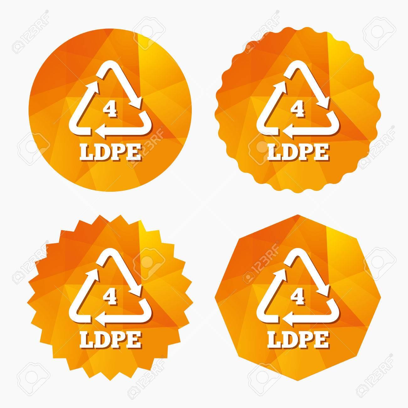 Ld pe 4 icon low density polyethylene sign recycling symbol ld pe 4 icon low density polyethylene sign recycling symbol triangular biocorpaavc Choice Image