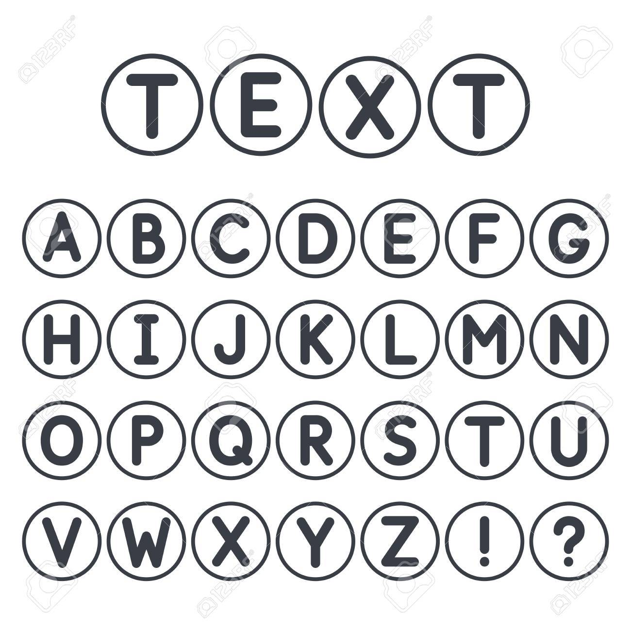 Letters In Circles Titan Iso Consulting Co