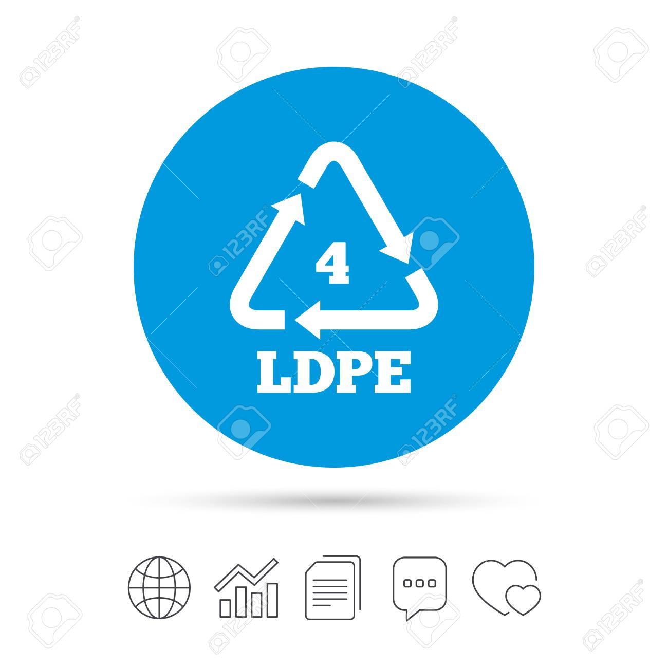 Ld pe 4 icon low density polyethylene sign recycling symbol ld pe 4 icon low density polyethylene sign recycling symbol copy biocorpaavc Choice Image