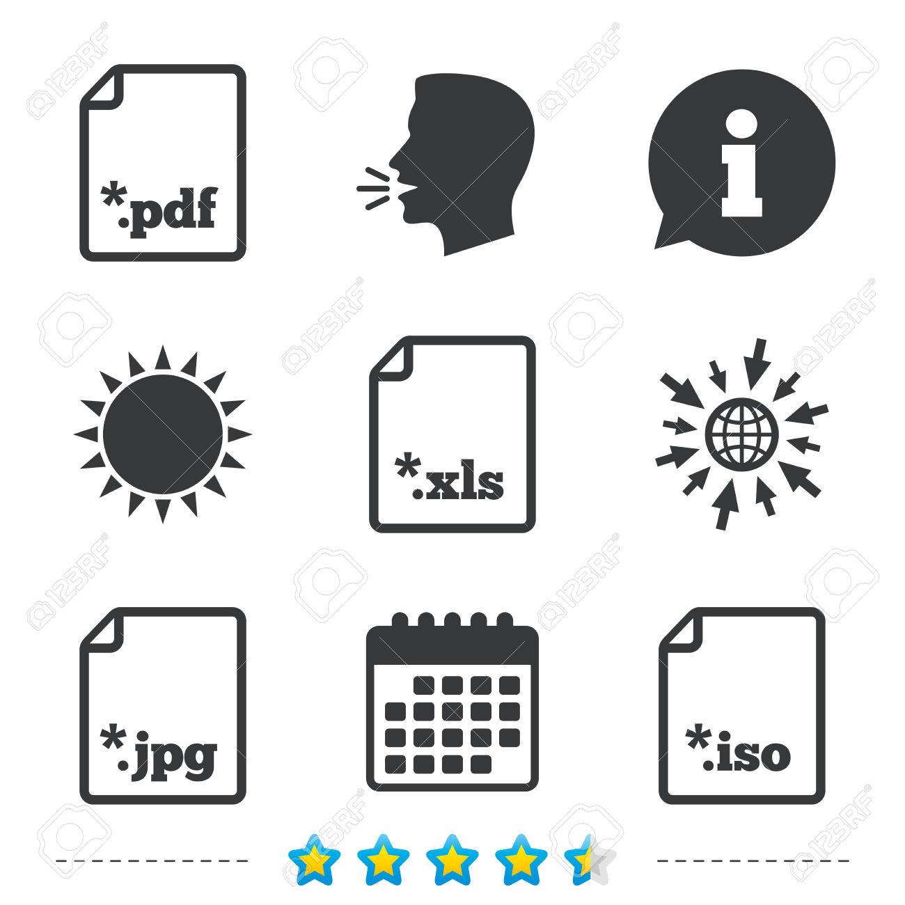 Download Document Icons File Extensions Symbols Pdf Xls Jpg