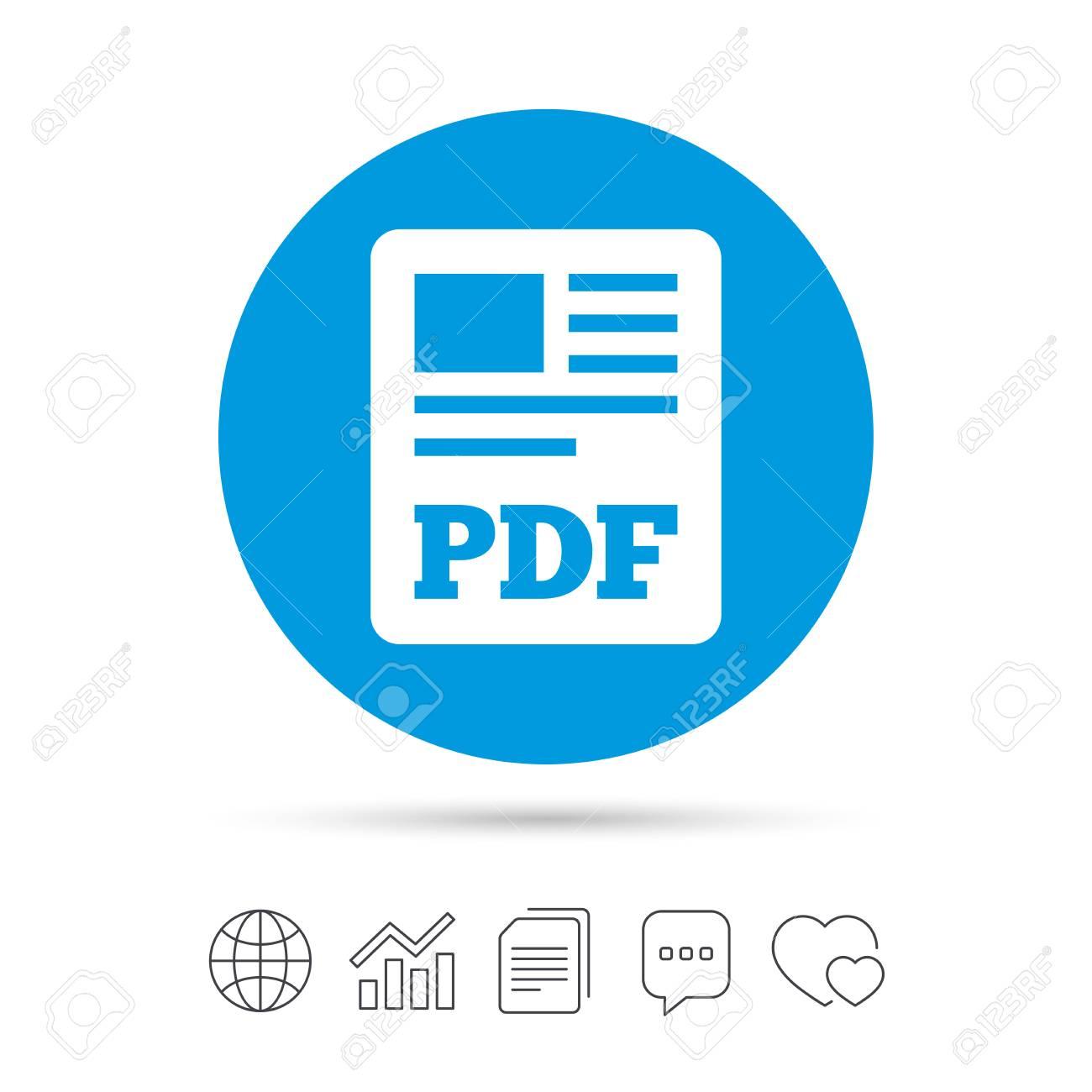 PDF file document icon  Download pdf button  PDF file symbol