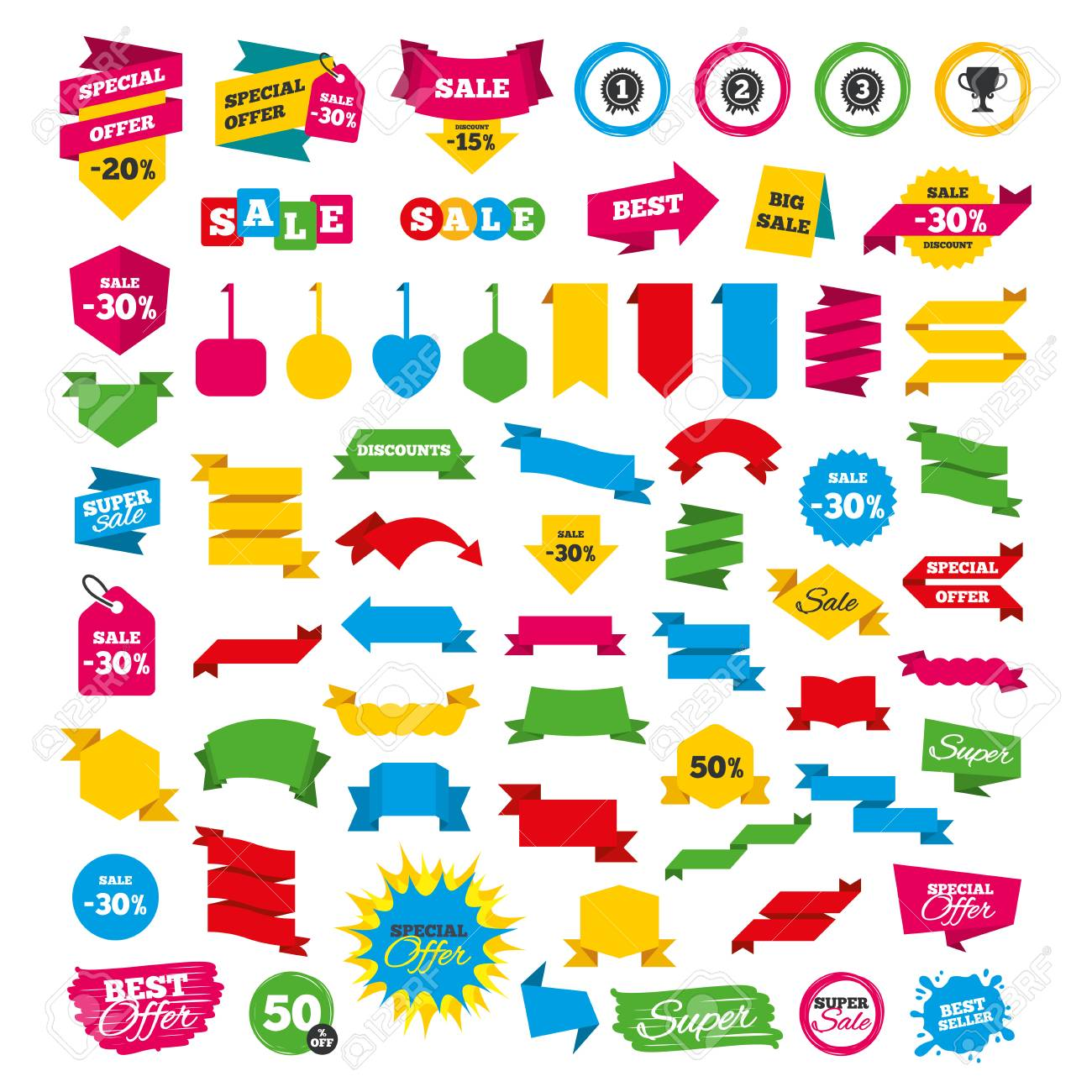Ribbons Special Awards Clipart | Free Images at Clker.com - vector clip art  online, royalty free & public domain