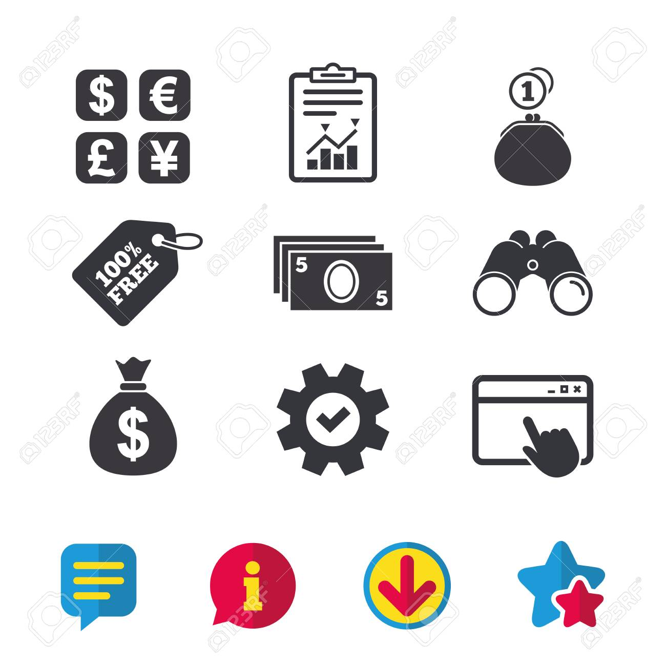 Building Of Market With Wide Windows Ping Icon Stock Vector Ilration Home