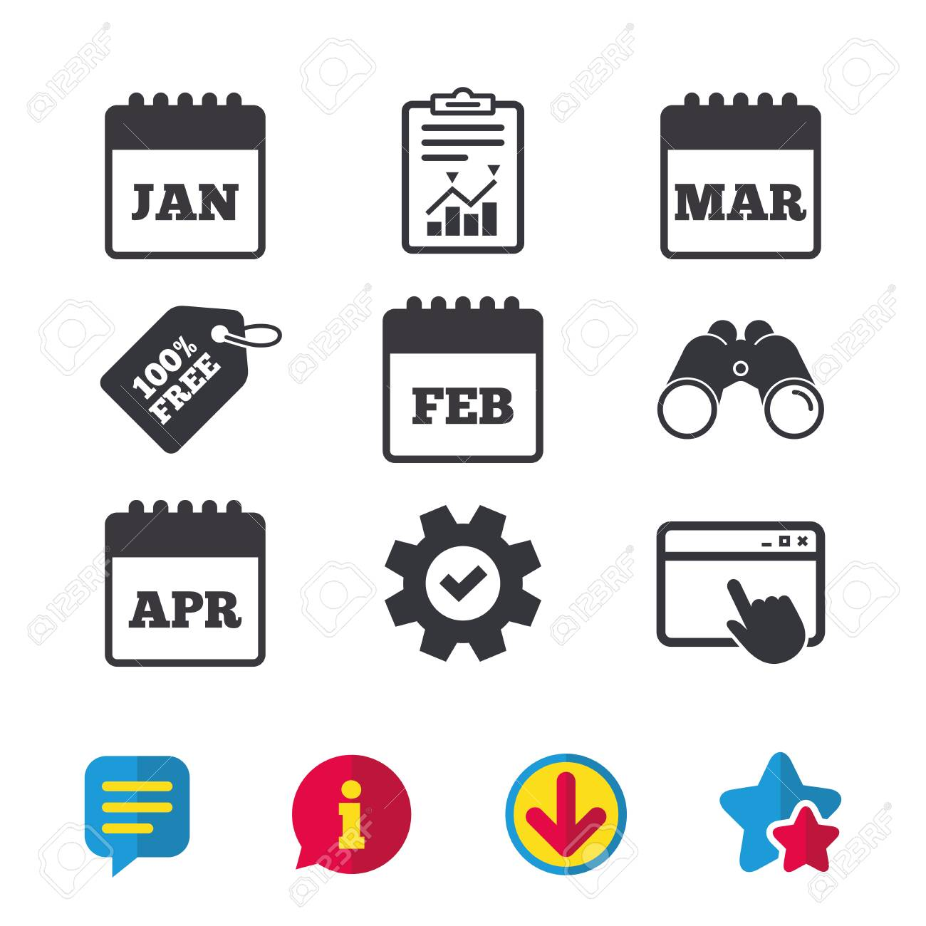 April signs and symbols choice image symbol and sign ideas calendar icons january february march and april month symbols january february march and april month symbols buycottarizona