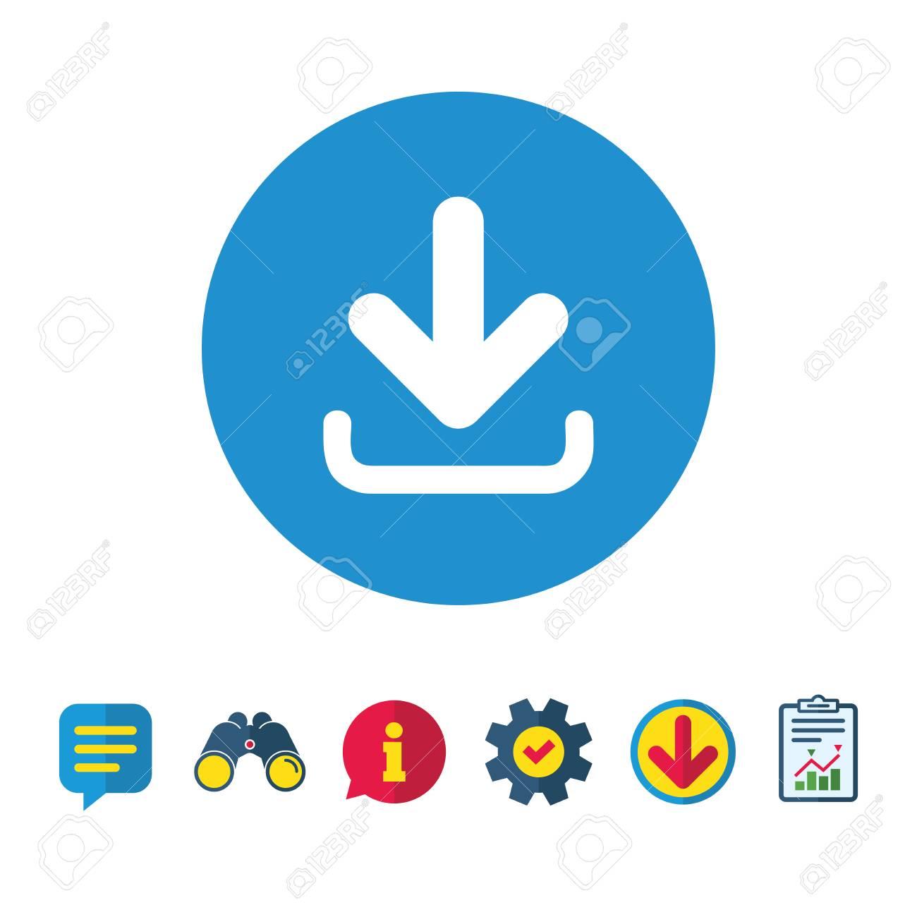 1803bc5908aba Descargar Icono. Botón Subir Cargar Símbolo Información