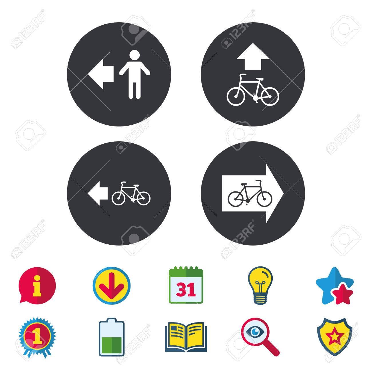 Pedestrian road icon bicycle path trail sign cycle path arrow bicycle path trail sign cycle path arrow symbol calendar buycottarizona Images