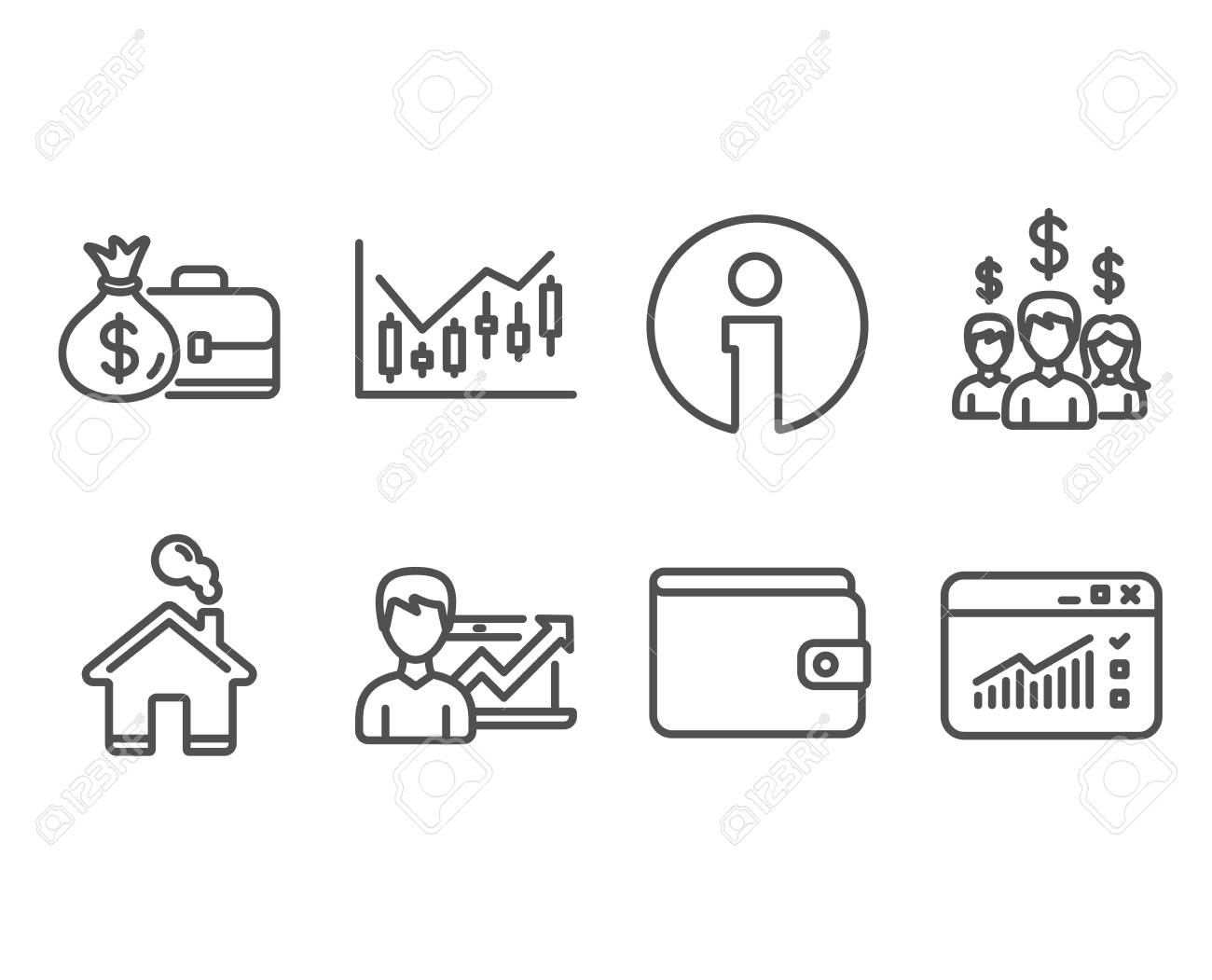 Set of salary employees money wallet and salary icons success set of salary employees money wallet and salary icons success business financial diagram ccuart Gallery