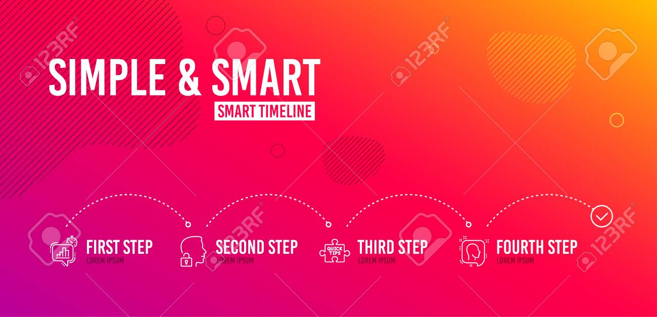 Infographic timeline  Quick tips, Statistics timer and Unlock