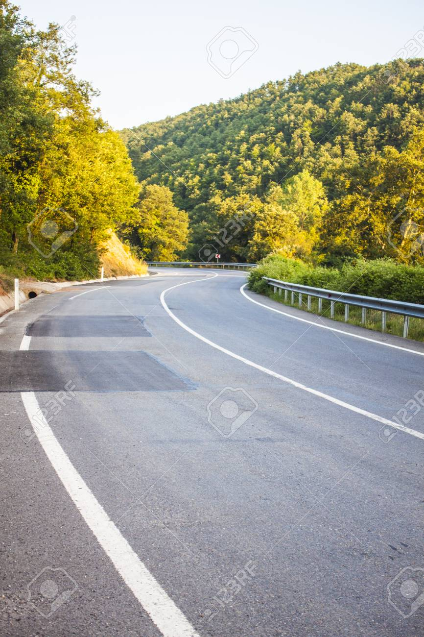 Highway Road Motorway Background Unit Isolate Stock Photo Picture And Royalty Free Image Image 114182027