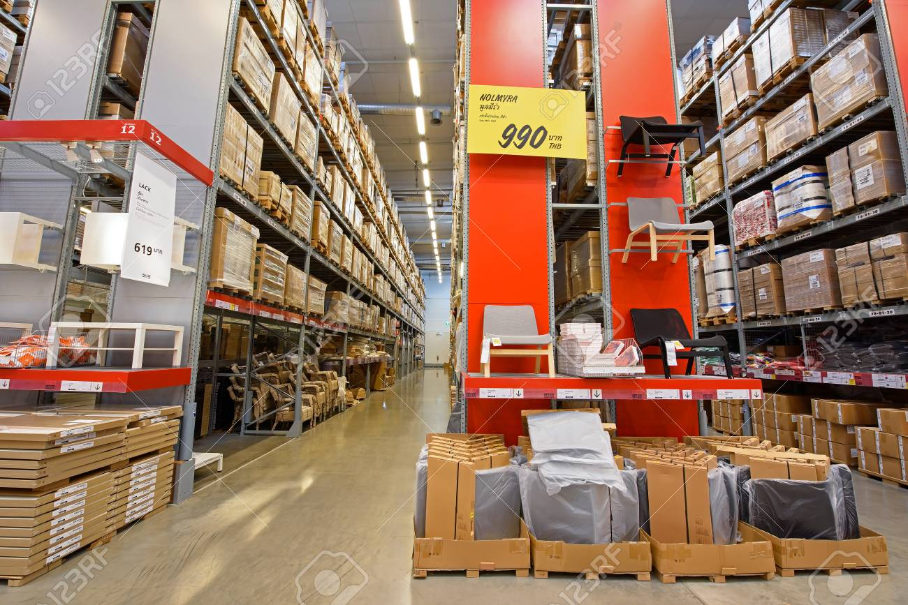 Bangkok Thailand September 26 2015 Ikea Furniture Store Stock