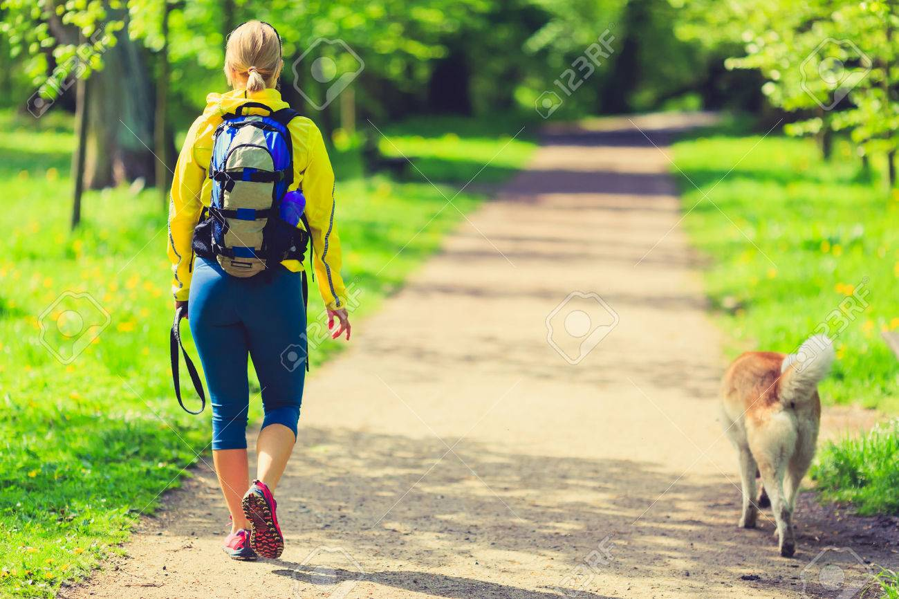 Image result for walking with dog