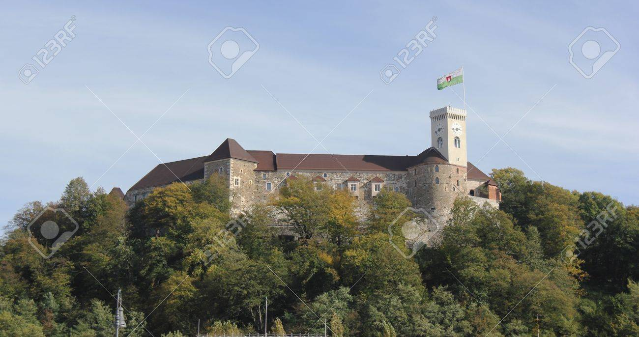 Castle of Ljubljana, Slovenia, Europe Stock Photo - 16287115