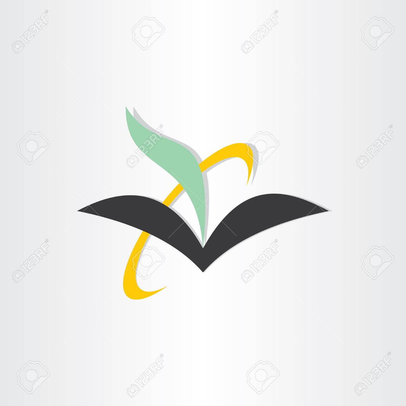 book and feather education icon poety literature symbol emblem book and feather education icon poety literature symbol emblem enciclopedia stock vector 38306493