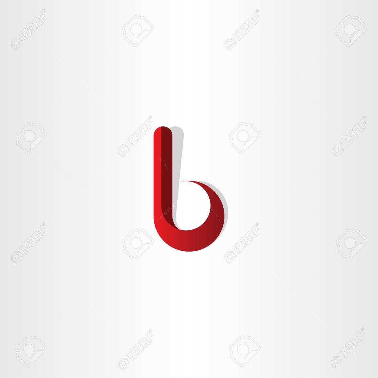 Lettre B Degrade Rouge Logotype Logo Clip Art Libres De Droits Vecteurs Et Illustration Image 44883476