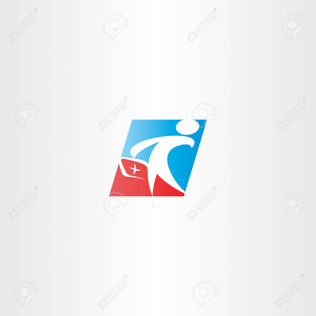Sanitäter symbol  Arzt Sanitäter Mann Vektor-Symbol Symbol Lizenzfrei Nutzbare ...