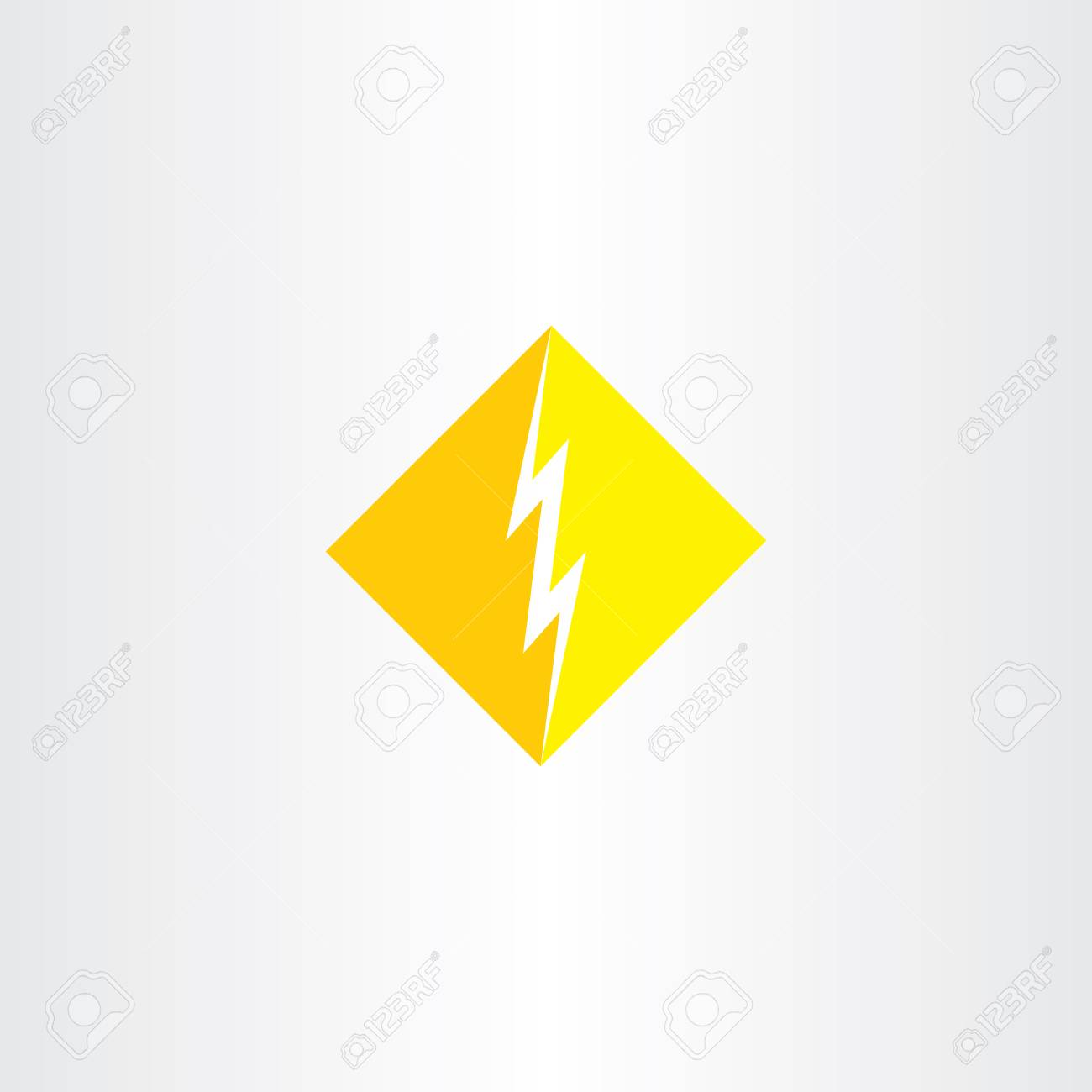 thunder icon vector symbol sign shape royalty free cliparts vectors