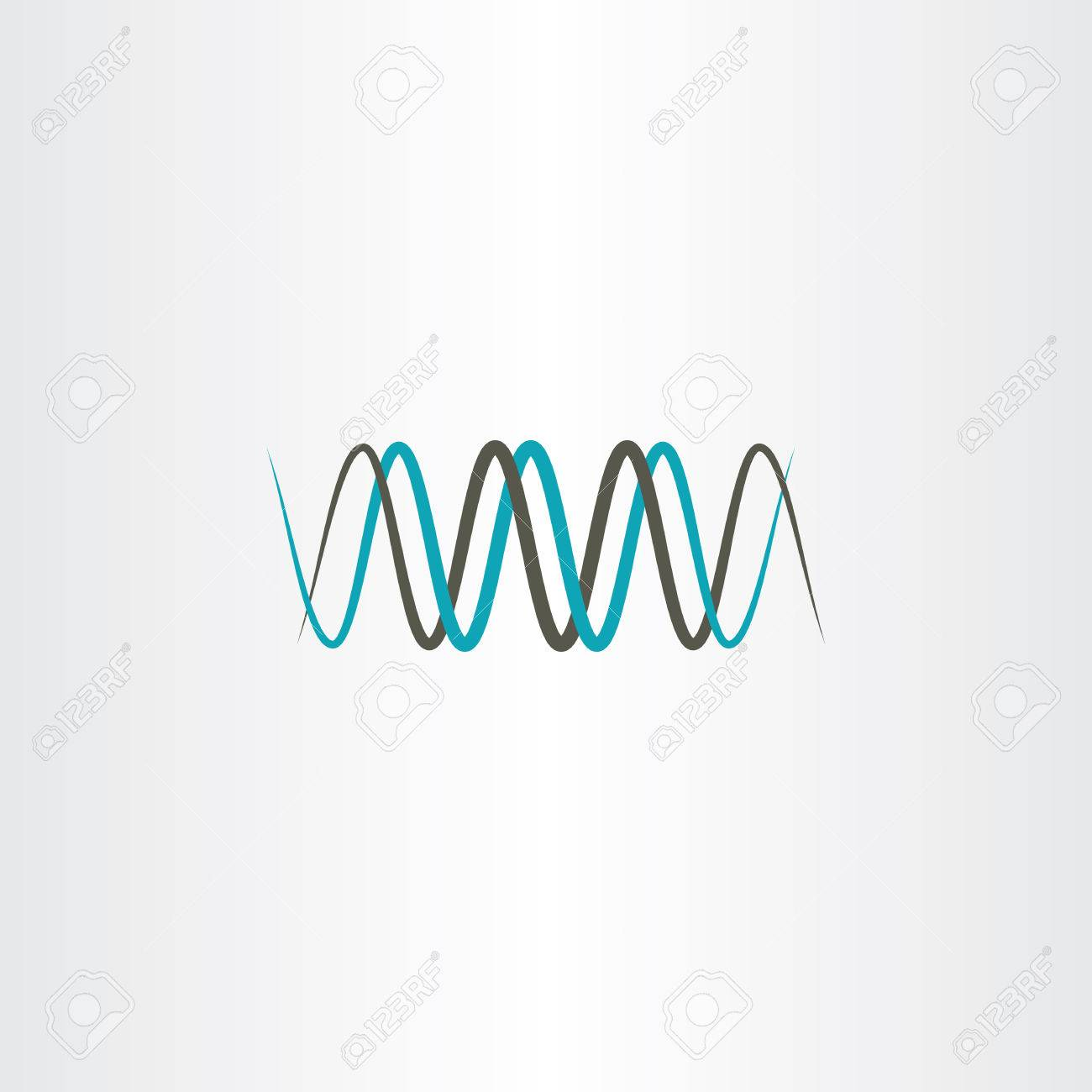 Frequency Wavelength Logo Vector Royalty Free Cliparts Vectors And