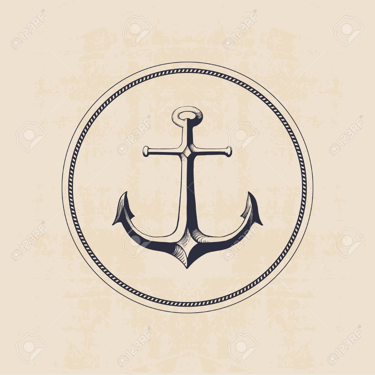Anchor logo in circle hand drawn illustration royalty free cliparts anchor logo in circle hand drawn illustration stock vector 41245815 thecheapjerseys Choice Image