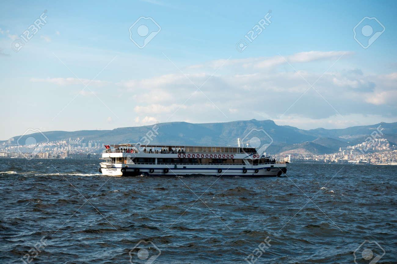The Izmir gulf and ferry - 166667730