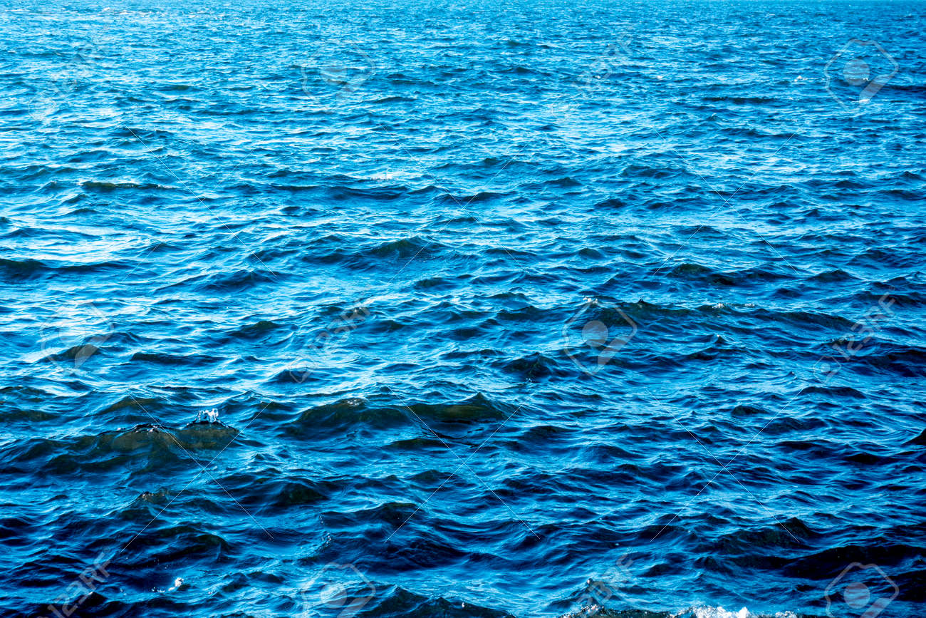 the blue sea and wave - 166667819