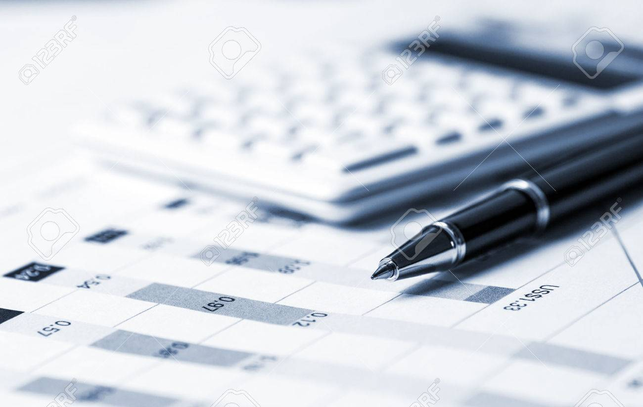 financial analysis concept - 53936104