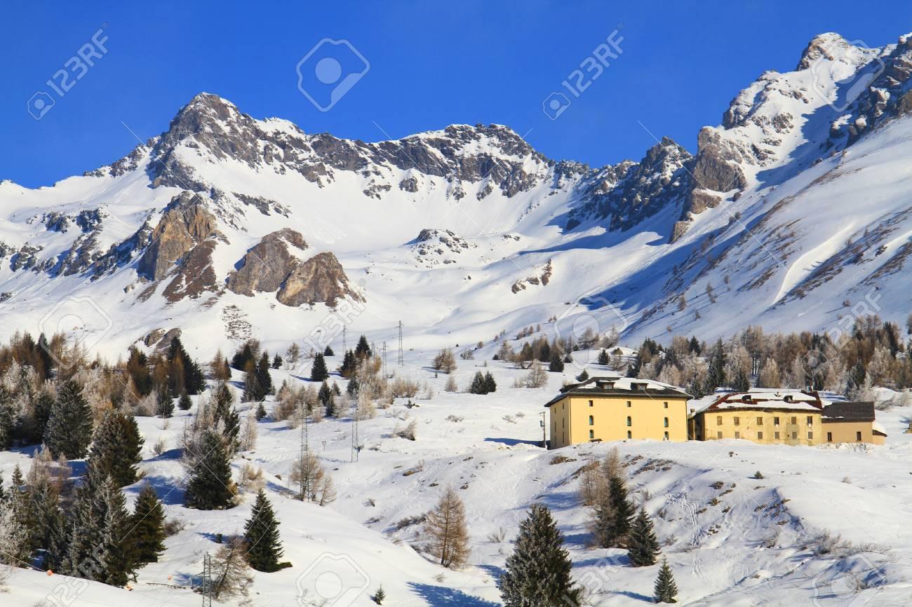 Winter scenes from Dolomiti