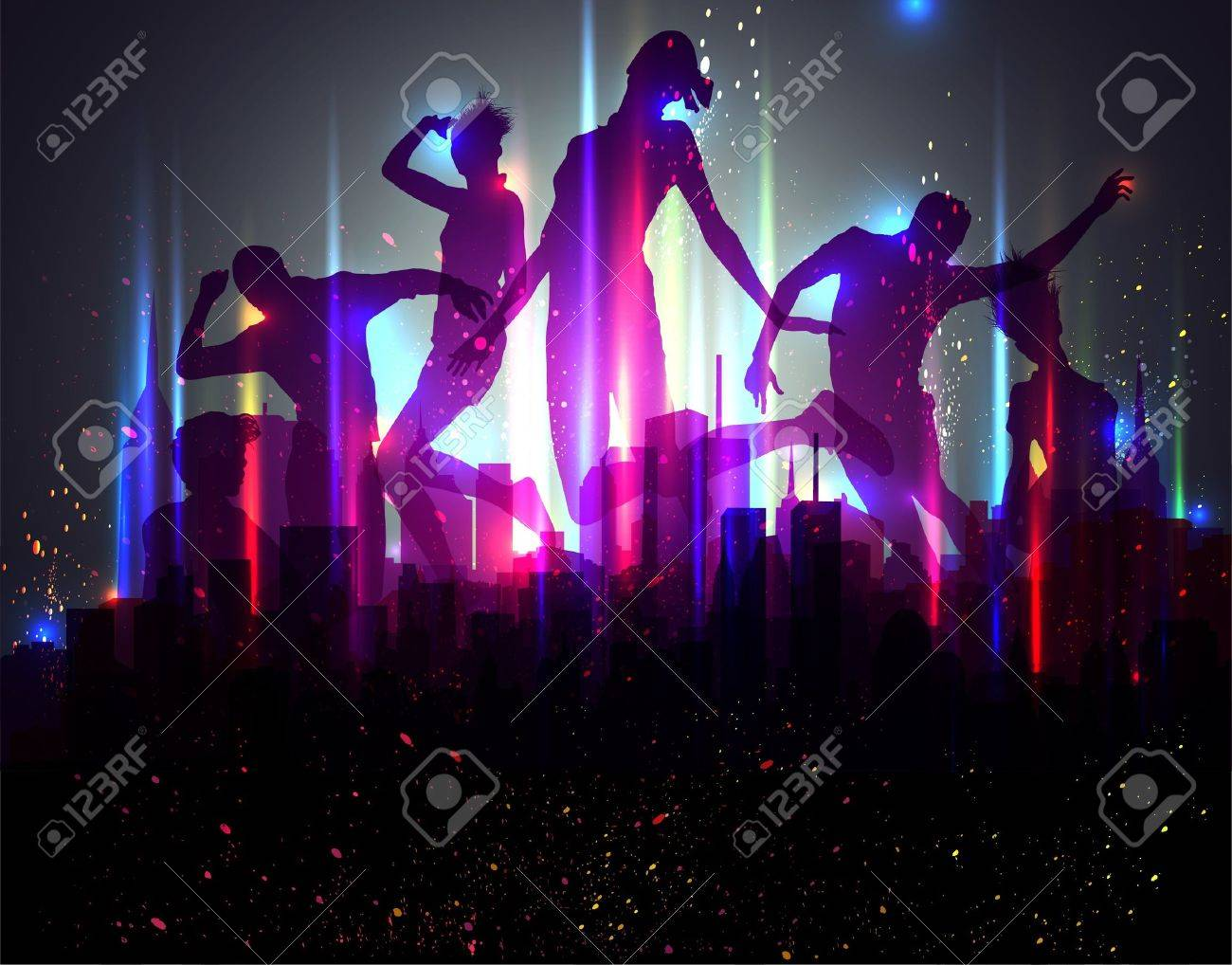 Party Background. Vector Illustration. EPS10. Stock Vector - 11422587