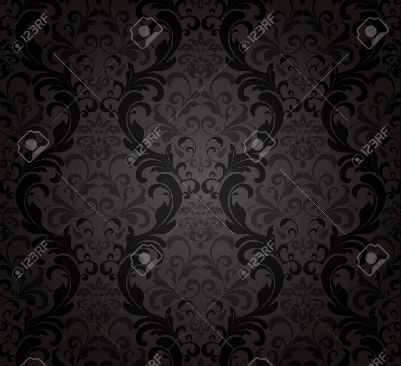 Black Wallpaper. Stock Vector - 11422585