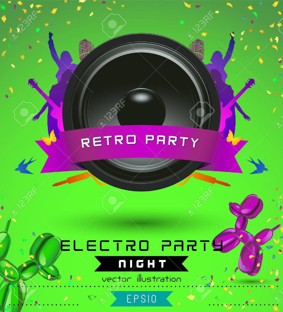 Music concept retro poster template royalty free cliparts vectors music concept retro poster template stock vector 14965933 maxwellsz
