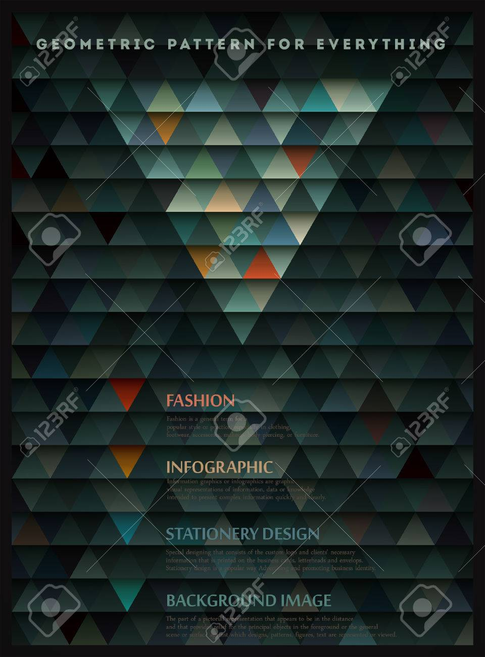 Geometric pattern for everything Stock Vector - 22427011