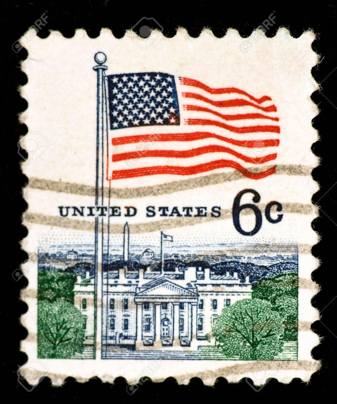 Vintage US postage stamp Stock Photo - 6189022