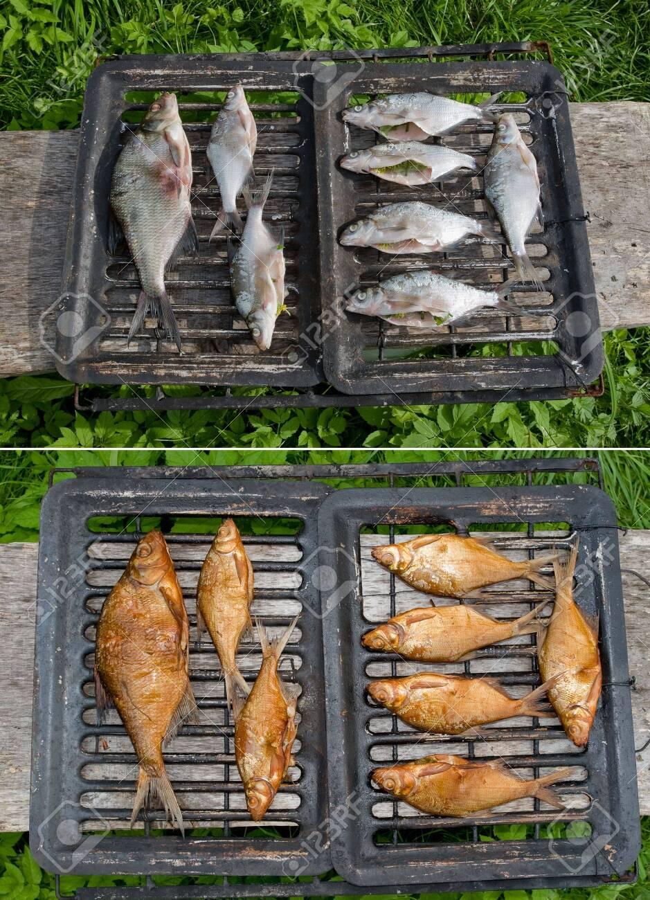 Smoked fish Stock Photo - 6673181