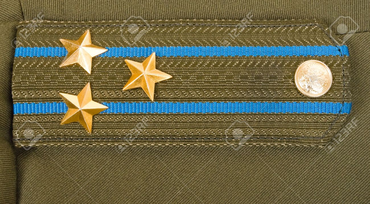 Shoulder strap colonel of the Russian Airborne Troops Stock Photo - 7218585