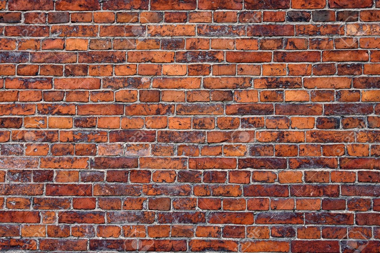 Abstract close-up red brick wall background - 8964945
