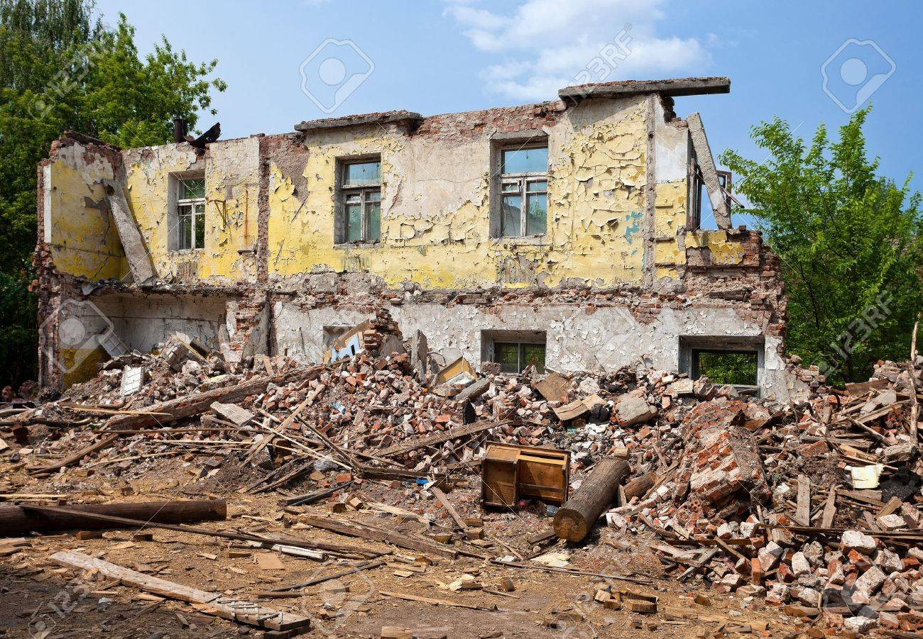 Ruined Building - 9698057